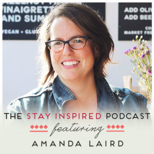 Amanda Laird on The Stay Inspired Podcast with Kongit Farrell